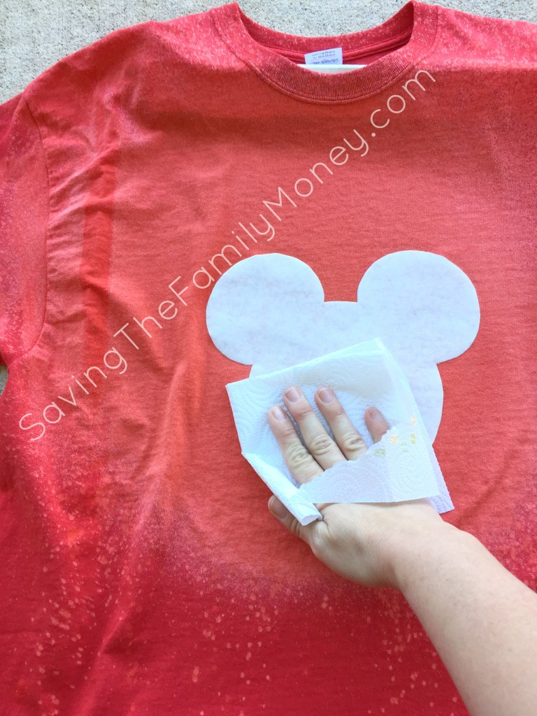 Homemade Mickey Mouse