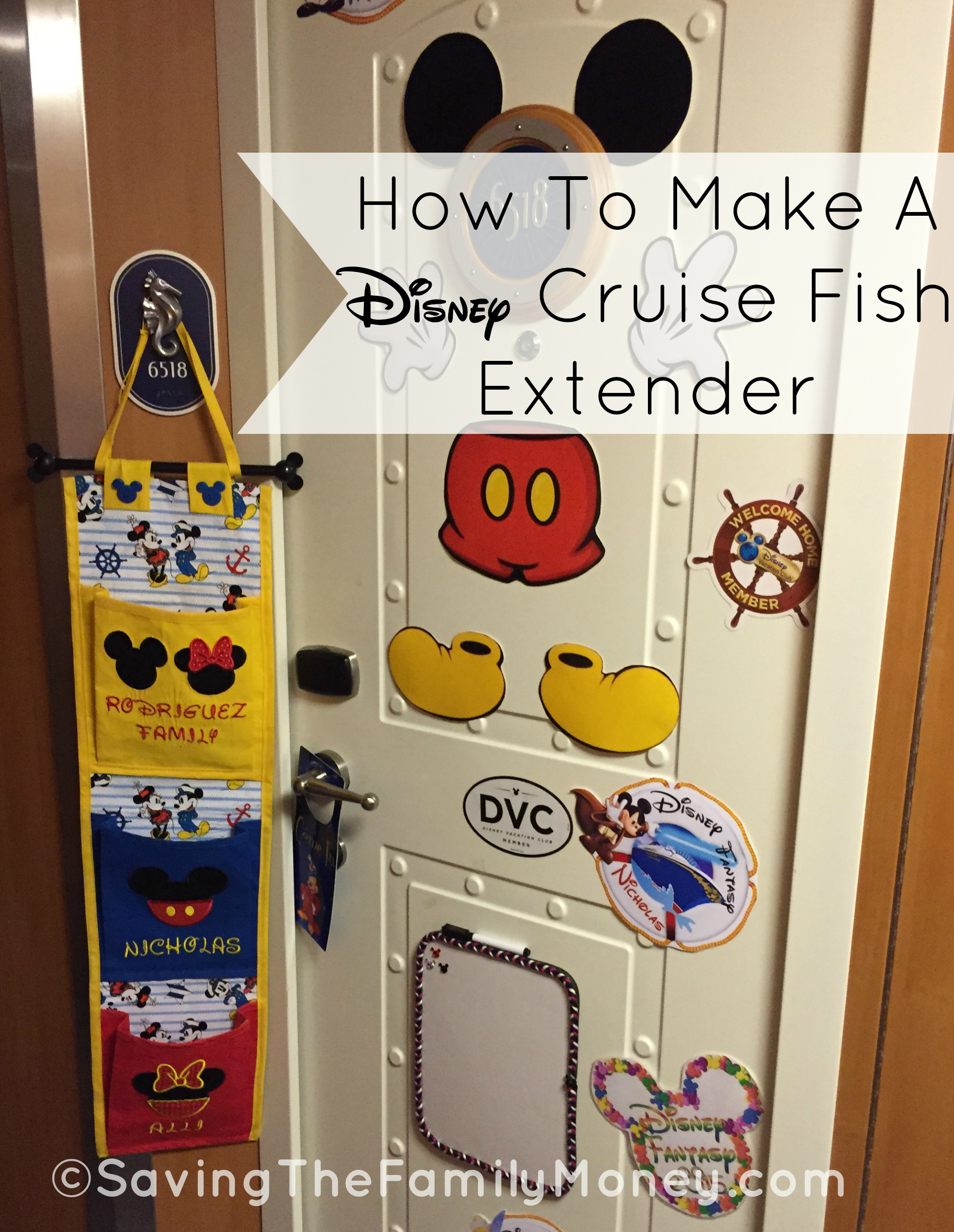 How To Make A Disney Cruise Fish Extender Saving The