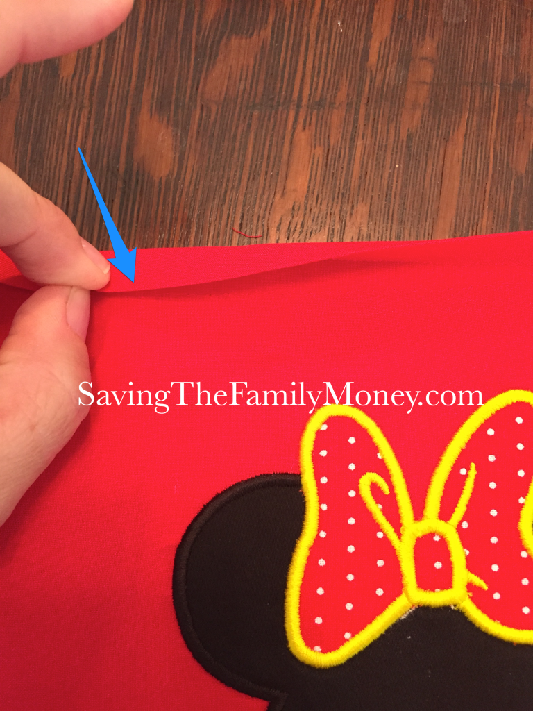 how to sew on binding
