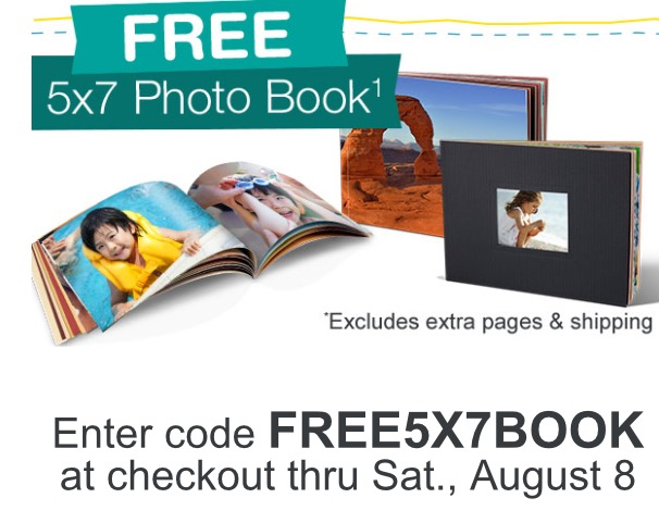 Walgreens Free 5×7 Photo Book Today Only – Saving The Family