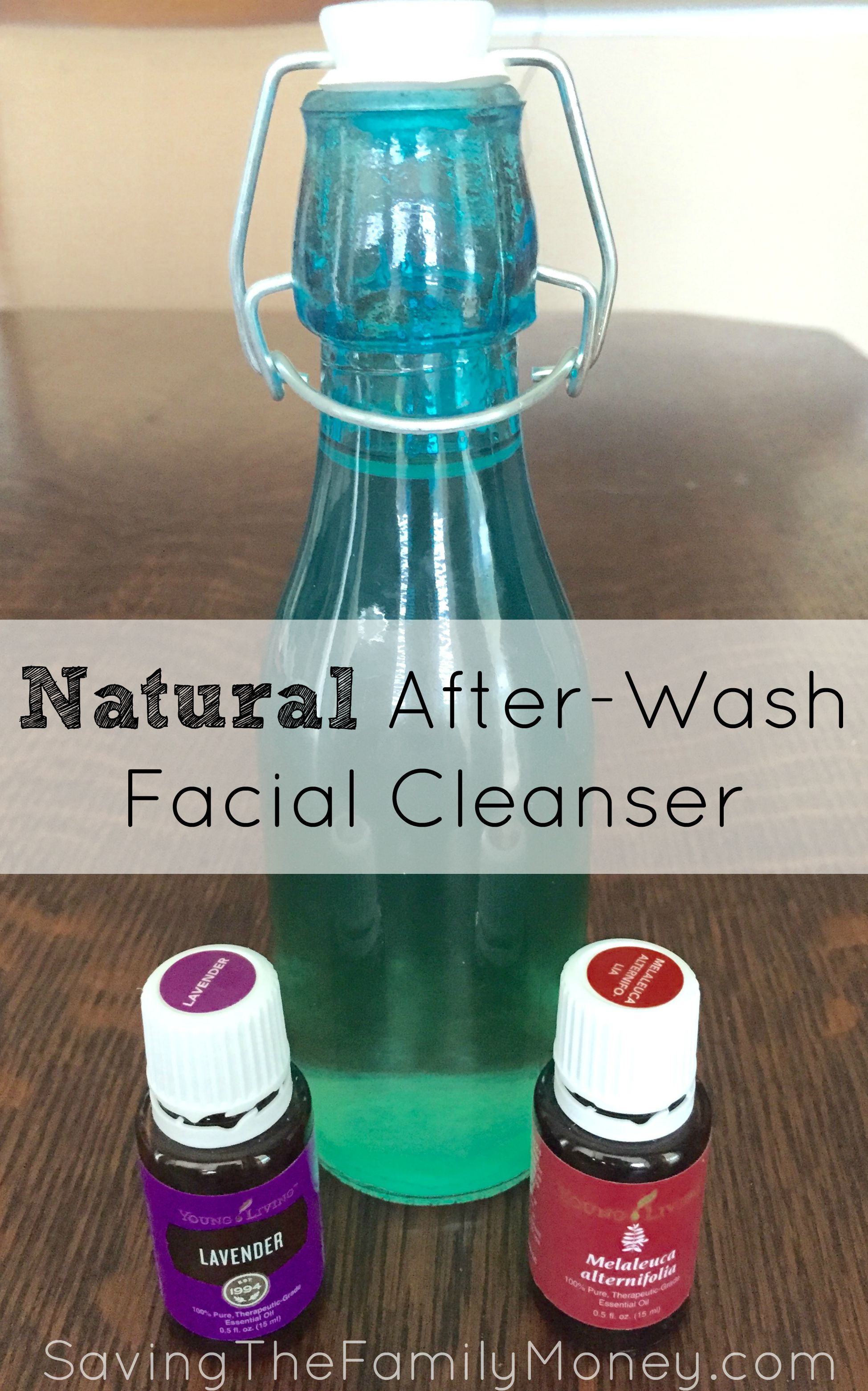 Natural After-Wash Facial Cleanser