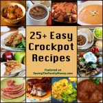 Easy Crockpot Recipes – Plan Your Meals For Busy Days