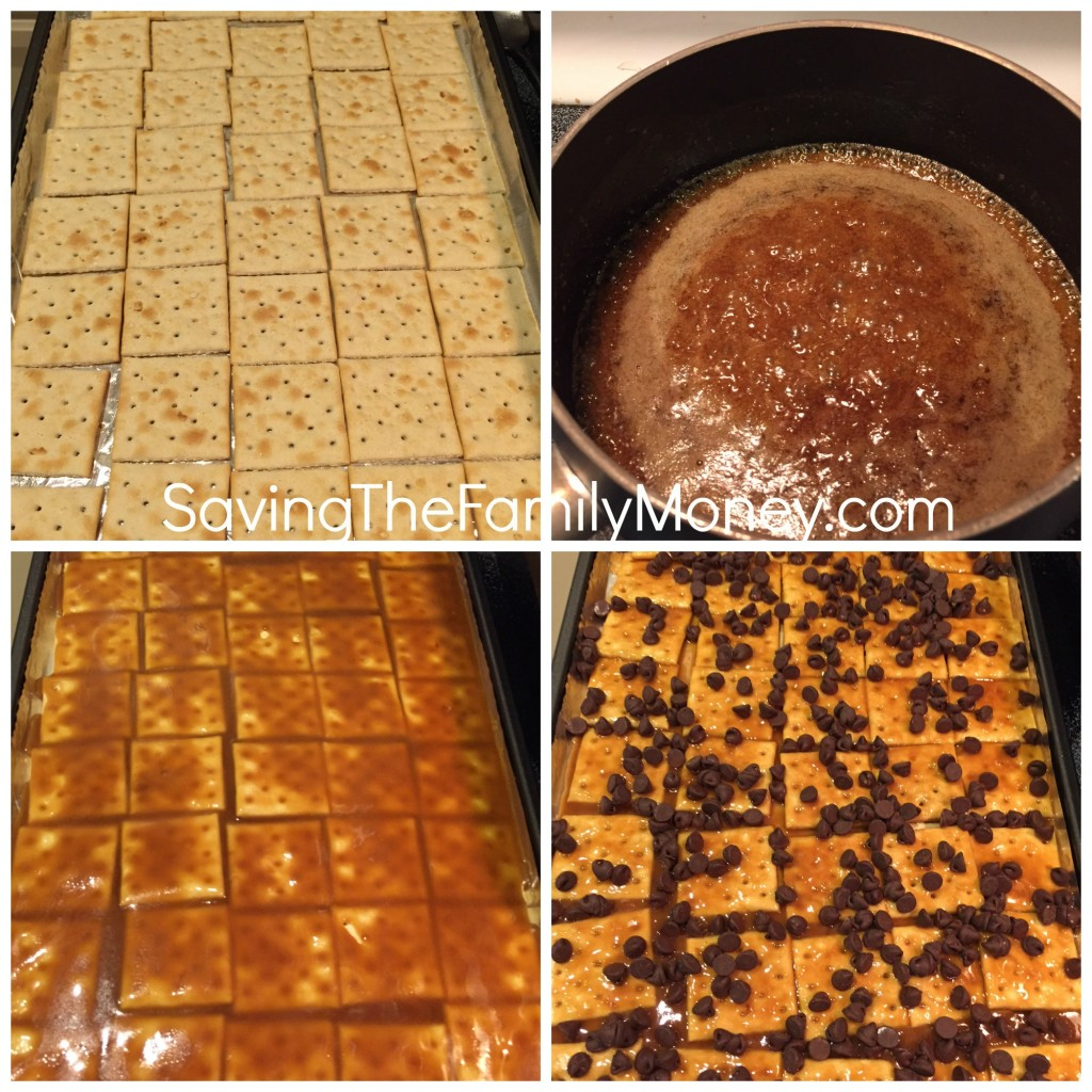Saltine Cracker Christmas Crack Candy