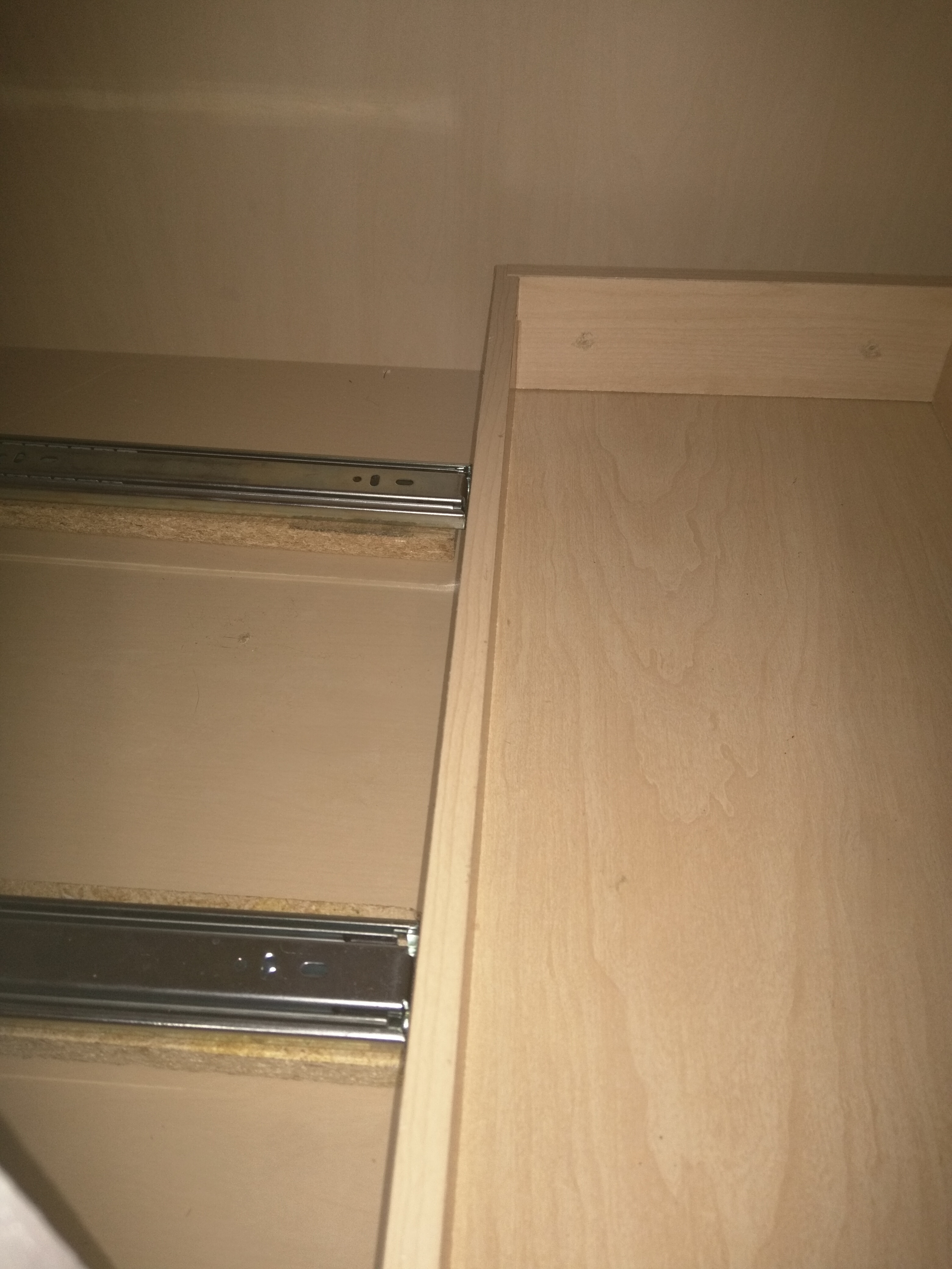 Blind Corner Drawers