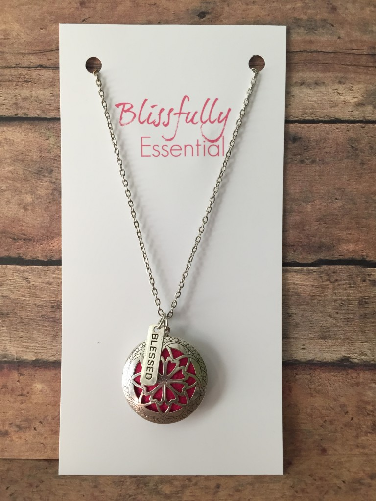 Blissfully Essential Blessed Diffuser Necklace